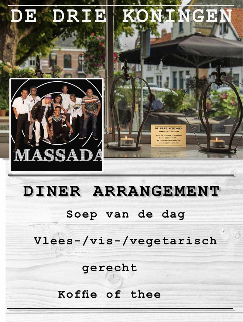 Diner-Arrangement-Massada-drie-koningen